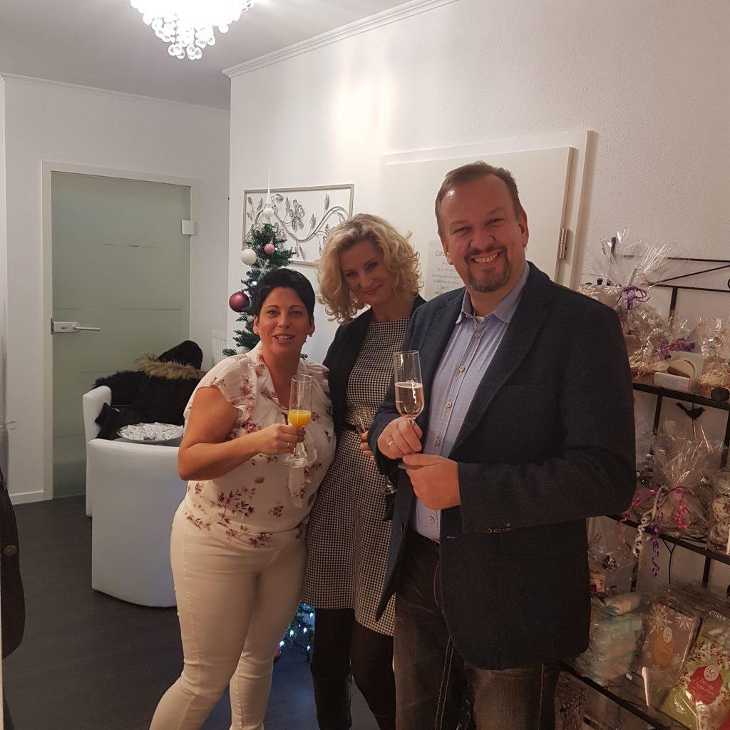 Hr. Olaf Römer mit Ehefrau von der Kosmetikfirma Dr. Rimpler